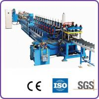 Wholesale Door Frame Roll Metal Forming Machines With Decoiler , Pre-punching System from china suppliers