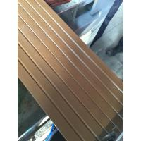 Wholesale Decorative Wpc Profile Extrusion Line Composite Decking Profiles , Stand Column Profiles from china suppliers