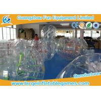 Wholesale 0.7mm - 1.0mm TPU Transparent Inflatable Bubble Ball Bubble Zorb Ball from china suppliers