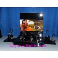Wholesale Counter top acrylic watch display rack, PMMA watch holder, plexiglass watch display stand from china suppliers