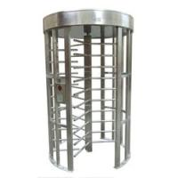 Buy cheap Stainless steel security access full height turnstile from wholesalers