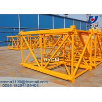 Wholesale 1.6*2.5m Mast Section Square Steel Stronger Of QTZ50 Tower Cranes from china suppliers