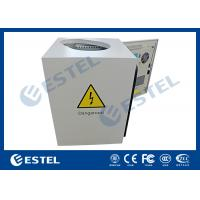Wholesale Anti- corrosion Pole Mount Enclosure / Pole Mounted Cabinet With Shaped Hole, Full Protection from china suppliers