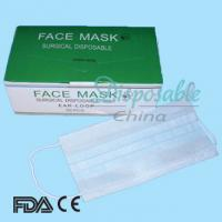 Wholesale EN14683 Type II Surgical Masks/Disposable Face Masks from china suppliers