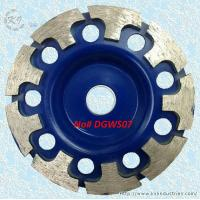 Wholesale T-Segmented Diamond Cup Grinding Wheel - DGWS07 from china suppliers