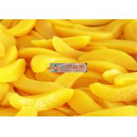 Wholesale PH 3.6 Canned Tropical Sliced Peaches Fruit Preserving Peaches Short Lead Time from china suppliers
