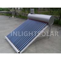 Wholesale 180L Aluminum Support Commercial Solar Water Heater , Non Pressure Type Water Heater from china suppliers