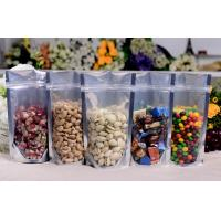 Wholesale Plastic Food Packaging resealable stand up pouch with zipper , SGS / FDA from china suppliers