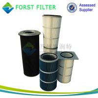Wholesale FORST Manufacture Polyester Material Square Flangle Dust  Air Filter Cartridge Supplier from china suppliers