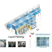 Wholesale Automated Spray Coating Production Line Design For Liquid Painting Plant 2.5 m/min from china suppliers