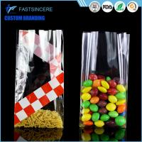 Wholesale Side Gusset Clear Square Bottom Cellophane Bags Opp Food Grade Plastic Bag from china suppliers