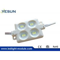 Buy cheap 4 Led Module , Waterproof Samsung SMD5630 Injection Led Module 5 Years Warranty from wholesalers