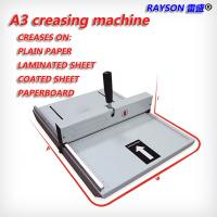 Wholesale CM-480 Strip Binding Machine 460mm Manual Scoring A3 Paper Creasing Machine from china suppliers