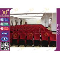 Wholesale Polypropylene Fram Ultra Comfort PU Molded Sponge Tip Up Auditorium Theater Seating from china suppliers