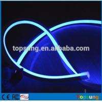 Wholesale 24v blue color decoration square led neon flex lights  pvc tube for garden from china suppliers