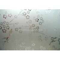 Wholesale Clear Float Curve Acid Etched Glass 4mm 5mm 6mm For Curtain Walls And Bathroom from china suppliers
