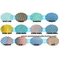 Buy cheap Nonwoven wiper fabric of spunlaced non wovens wipes spun lace wypall x60 wipers similar from wholesalers