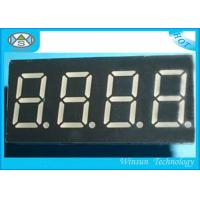 Wholesale Eco Friendly 4 Digit 7 Segment Led Digital Display With 0.8 Inch Height , SGS Certification from china suppliers