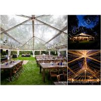 Quality Noble and Bright Fabric Luxury Wedding Marquee for Events and Parties on Grassland for sale
