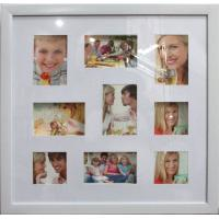 Wholesale Hot sale plastic photo frame 9 opening photo frame multi photo frame square photo frame from china suppliers