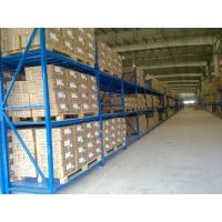 Wholesale Three levels pallet stock steel heavy duty shelving racks for industrial storage from china suppliers