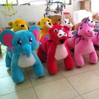 Wholesale Hansel hot selling children plush battery operated stuffed animal scooters from china suppliers