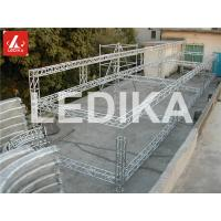 Quality Customized Shaped Durable Aluminum Box Truss 12m - 30m Span For Outdoor Events for sale