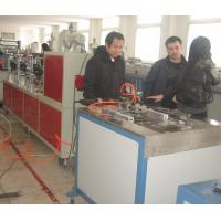 Wholesale PVC Plastic Skirting Plastic Extrusion Equipment , PVC Ceiling Production Line from china suppliers