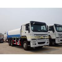 Wholesale Professional 20m3 Water Tanker Truck / Water Tanker Lorry 336HP 6x4 SINOTRUK HOWO from china suppliers