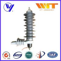 Wholesale Self Standing Lightning Surge Arrester With Polymeric Housing , High Energy Dissipation Capability from china suppliers