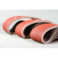 Quality Narrow Aluminum Oxide Sanding Belts Semi Open Coated For Dry Sanding for sale