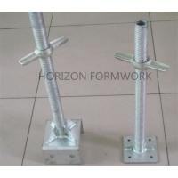 Wholesale Adjustable Scaffolding Jack Base For Leveling Ring-lock System Height from china suppliers