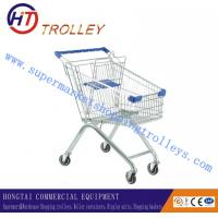 Wholesale Zinc Plated Convenient Retail Metal Shopping Cart For Kids 80L European Style from china suppliers