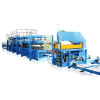 Wholesale Color Steel Sheet 0.4 - 0.8mm PU Sandwich Panel Making Machine Production Line from china suppliers