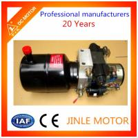 Wholesale DC 24V Hydraulic Power Unit 2KW 2500rpm For Tail Gate Lift 6L Oil Tank from china suppliers