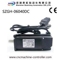 Wholesale AC 12v Synchronous CNC Servo Motor 400 Watt For Printing Equipment , CE UL ISO Certificaiton from china suppliers