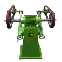 Wholesale Smooth / Bright  Semiautomatic Wheel Polishing Machine Clean Casting Riser 1100*1200*1050mm from china suppliers