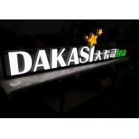 Wholesale Indoor Solid Acrylic LED Letters Sign For Business , Building Sign Letters from china suppliers