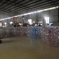 Wholesale 1.5M Transparent  Inflatable Bumper Bubble Ball/Inflatable Bumper bBall  In The Grass from china suppliers