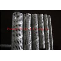 Wholesale Aluminium / Galvanized Perforated Metal Tube , Wire Mesh Tubing Customized from china suppliers