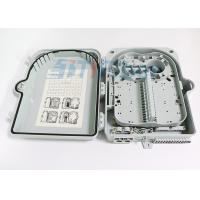 Wholesale 24 Port Outdoor Wall Mounted Fiber Optic Termination Box With Extend Capacity from china suppliers