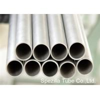 Wholesale Condenser Thin Wall Pipe Welded Titanium Round Tube For Medical Industry from china suppliers