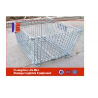 Wholesale High Grade Warehouse / Supermarket Folding Steel Storage Cages Roll Container from china suppliers