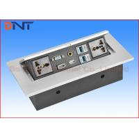 Wholesale HDMI Pop Up Plug  With RJ45 Network , Desk Hidden Socket For Meeting Table from china suppliers