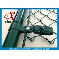Wholesale Heave-duty Wire Mesh Fence , Hot Dipped Galvanized Chain Link Fence from china suppliers
