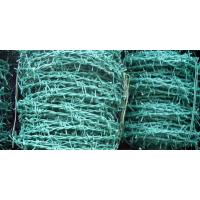 Wholesale Weaving PVC Coated Barbed Wire , 2 Strands Garden Border Edging from china suppliers