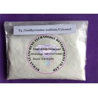 Wholesale Steroid powder T3 Liothyronine sodium Cytomel  for weight loss for bodybuilding from china suppliers