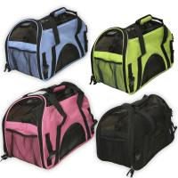 Wholesale Oxgord Pet Carrier Soft Sided Cat / Dog Comfort Travel Tote Bag Airline Approved pets bag from china suppliers