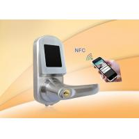 Quality RFID Card Door Lock With Mobile phone, Card, Mechanical key for sale