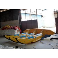Wholesale Floating Inflatable Toy Boat , 0.9mm PVC Inflatable 6 seats Flyfish for Water Game from china suppliers